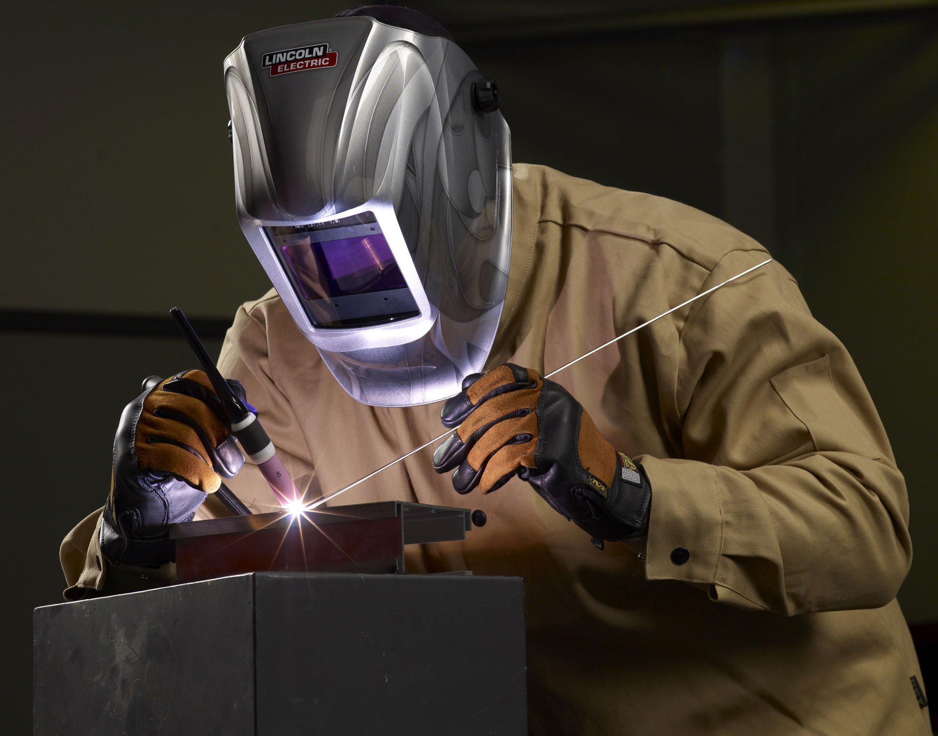 Welding The Corners Of A Truck Bed
