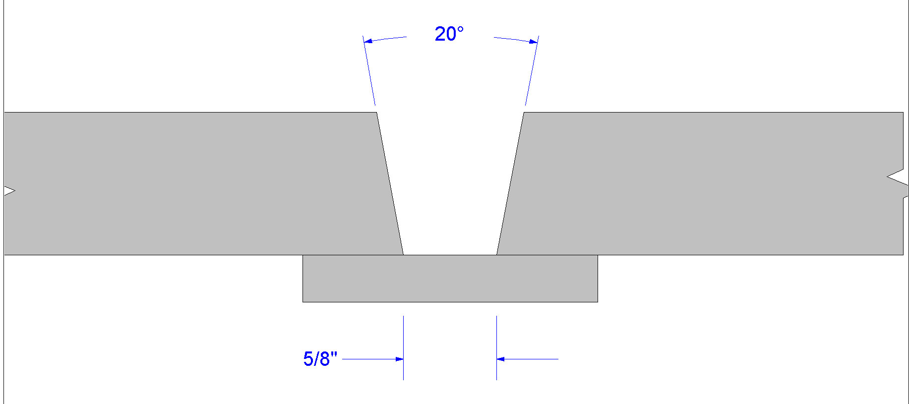 Choosing A Butt Weld Joint Preparation Tig Welding Line Diagram Figure 2 Aws D11 Prequalified B U2 S Utilizing Bevel And Root Opening Click On Illustration To Enlarge It