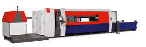 The BySpeed Pro laser cutting system from Bystronic features new automatic nozzle centering.