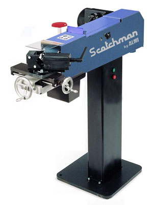 The AL100U-02 abrasive pipe notcher/grinder from Scotchman is a sturdy, precise machine that operates at high speeds so stainless-steel sections can be machined problem free without grinding burrs or heat discoloration.