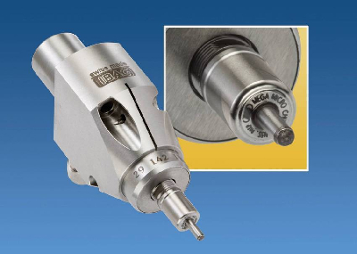 Micro Line 22 mm, 25 mm and 33 mm high speed spindles include back working and right angle models that can achieve spindle speeds up to 90,000 rpm to significantly reduce cycle time and boost productivity.(click on image to enlarge it)