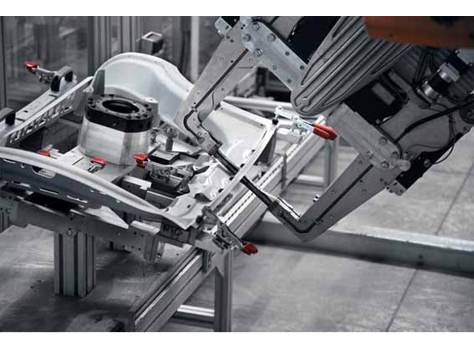Resistance Spot Welding of Aluminum Moves to Production Line