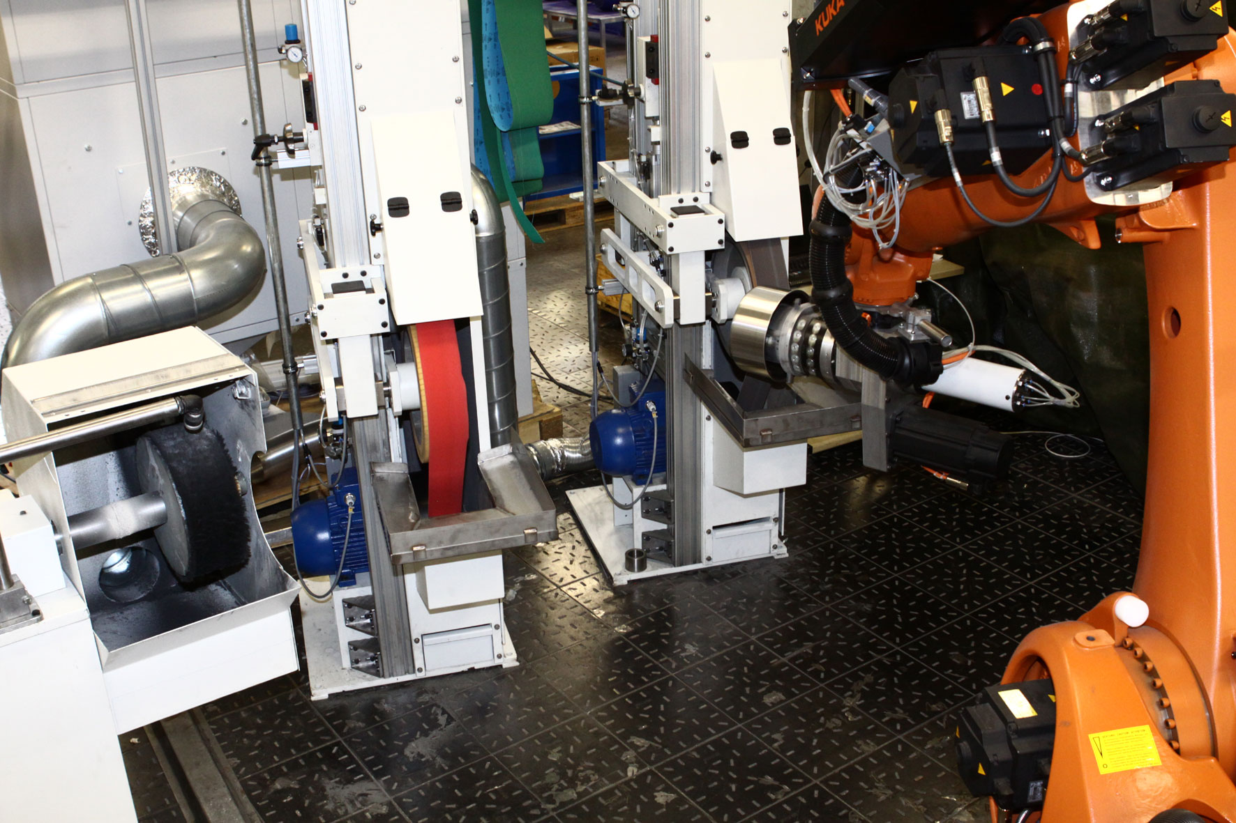 robotic polishing machine
