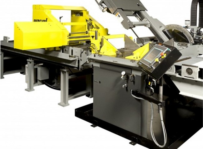 New advances in bandsaw technology have resulted in a control that is so easy to use even a novice operator can be confident that the saw is performing at maximum efficiency.(Click on screen shot to enlarge it)