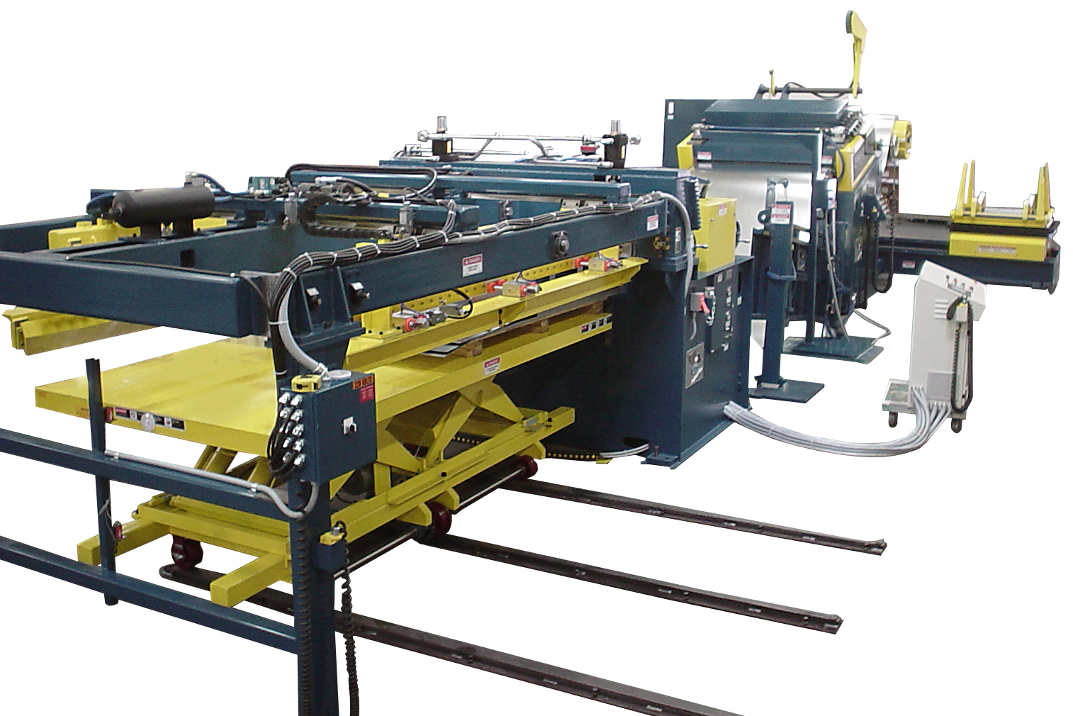 COE Press Equipment will display Cut-to-Length line capabilities for producing blanks in-house.(Click on photo to enlarge it)