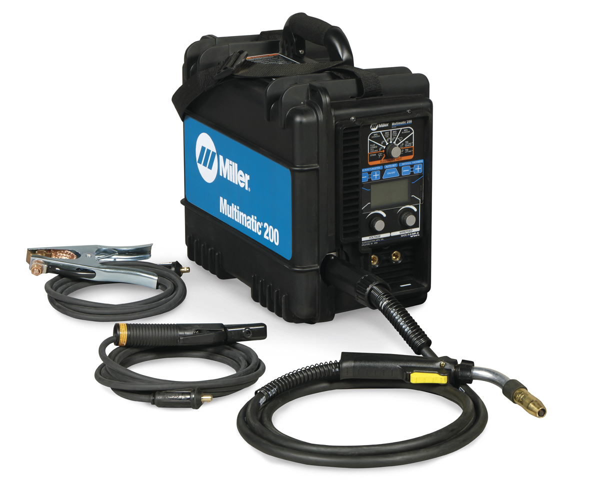 Portable All In One Welding System For Light Fabrication