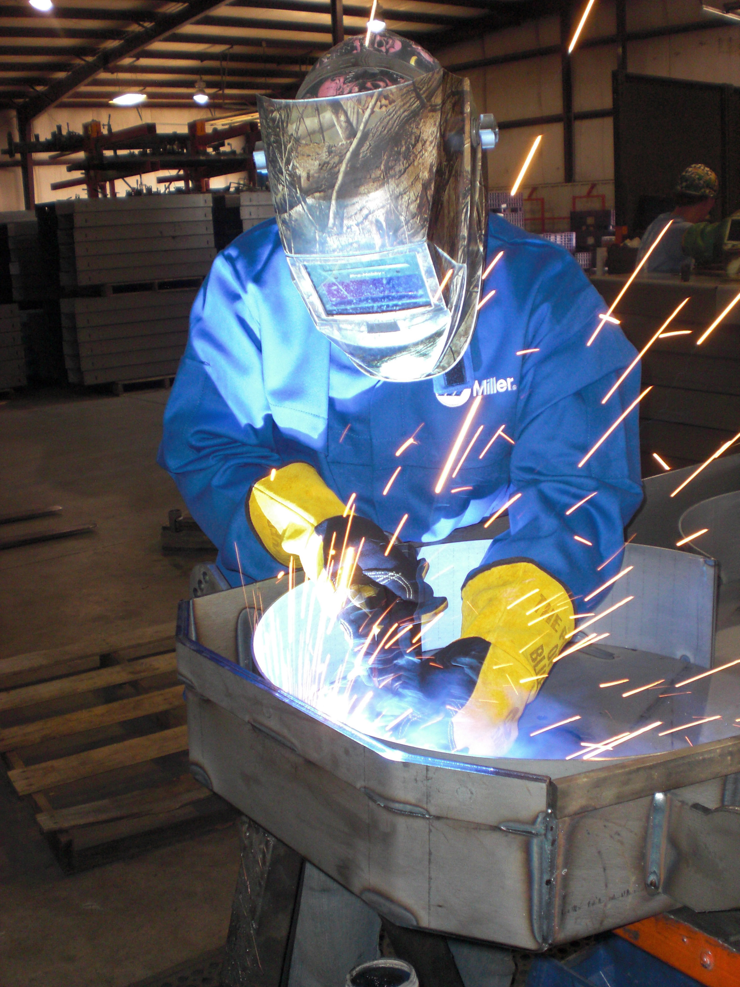 There is more to teaching a novice welder than just showing him or her how to set the power source or hold the gun or torch at the correct angle. It is important to instill good habits early on in the training process and provide the knowledge to address everything from maintenance to materials.(Click on photo to enlarge it)