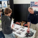 The goal of the Manufacturing Job Fair at Grafton High School was to introduce students to potential careers in manufacturing and skilled trades.(Click on photo to enlarge it)