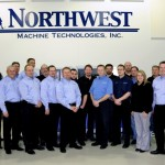 Northwest Machine Technologies has a full staff of service and support specialists that will also work with the automation division.(Click on photo to enlarge it)