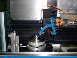 This strategic acquisition broadens the capabilities of the core EDAC Machinery lines, including technologies that improve centerless grinding performance as well as proprietary products for niche markets, such as those served by Accura Technics equipment shown above.(Click on all photos to enlarge them)
