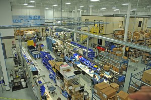 The new Eagle Creek Operational Center will manufacture and distribute SICK industrial automation solutions that include innovative sensors, safety systems, automatic identification, encoders and machine vision products.(photo courtesy of Savage Pacer)