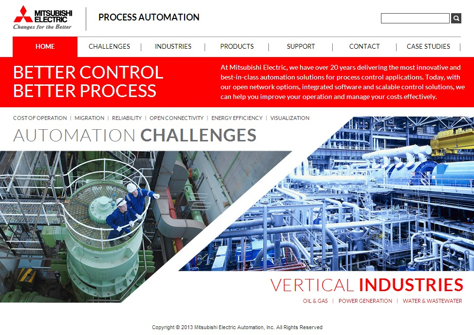 | Mitsubishi Electric Automation Launches New Website