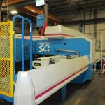 Liebert aggressively expanded and upgraded its CNC machinery with the new nesting and CADCAM software across several plants, using the pre-defined parameters of automatic 'healing' routines on CAD imports to correct any 'dirty' files. Complete CAD file directories have been healed, imported and tooled automatically using Single Component Automatic Processing. They are then immediately ready for nesting.(Click on photo to enlarge it)