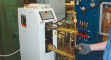 The new welding equipment is expected to increase production by at least 10 percent.(Click on photo to enlarge it)