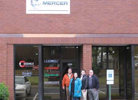 EMCO's new dealer is Mercer Machinery, led by Lester Mercer, president.(Click on photo to enlarge it)