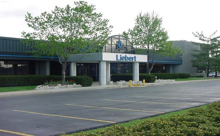Liebert manufactures and ships air and power conditioning for computers and server rooms from its four North American facilities located in Columbus, Delaware and Ironton, Ohio and Mexicali, Mexico.(Click on photo to enlarge it)