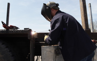 High Tech Welding has gained 25 to 30 percent in productivity in its field repairs since it began using the Multimatic 200 a year ago. The portability and multiprocess capabilities of the unit are at the heart of those benefits.