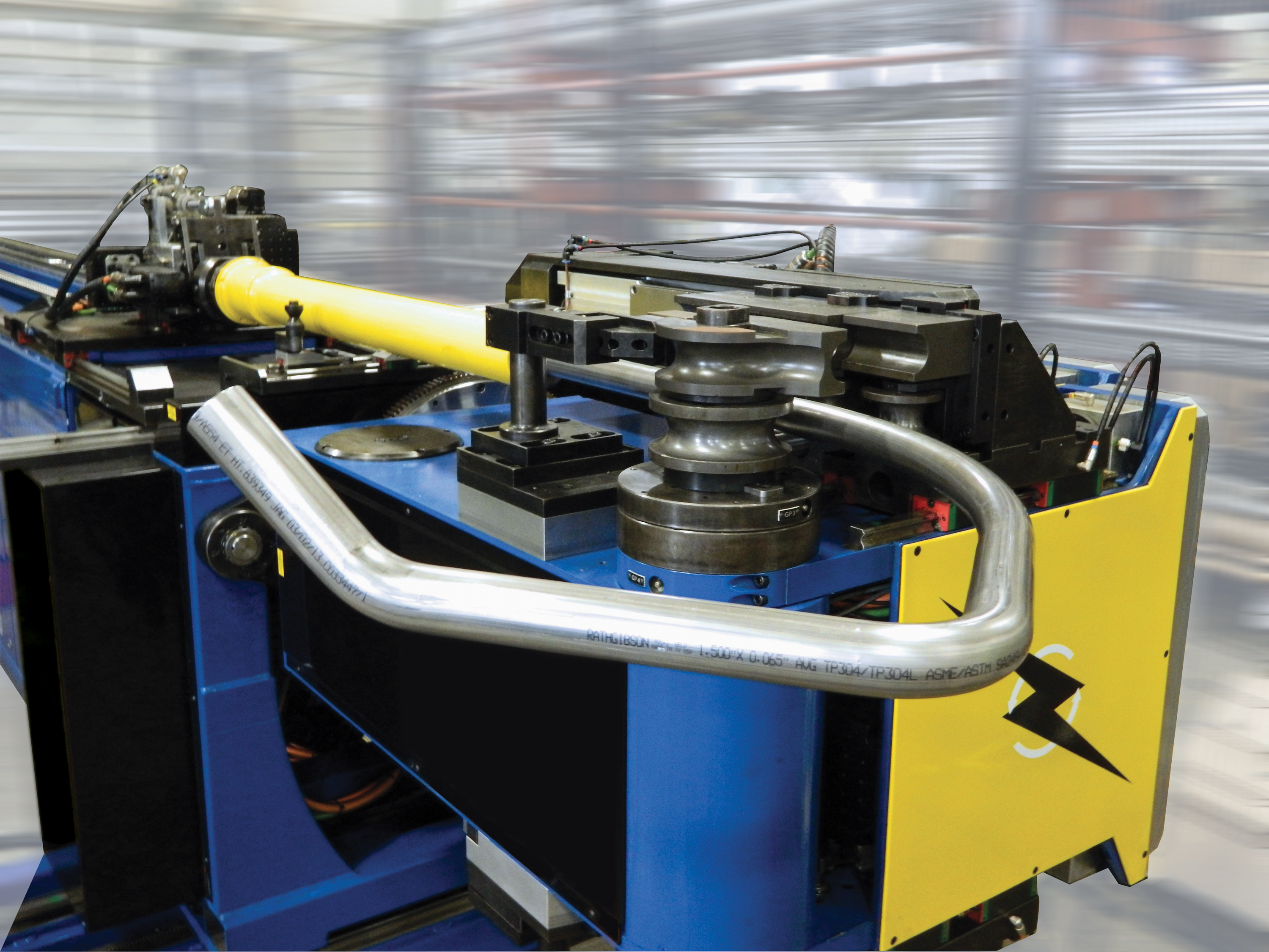 Rotating-Head Bending Replaces Hydraulic Benders & Old Fashioned Cnc Wire Bender Image - The Wire - magnox.info