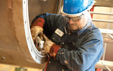 Eye, face and head protection measures must be consistent and systematic to minimize safety gaps. Hardhat systems that allow for the quick insertion or release of a welding helmet or face shield, depending on the work task or process involved, without workers ever having to expose their eyes, face or head to danger by removing their hardhat.