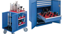 Tool storage solutions and CNC Tool Storage Cabinets from Lista International.