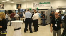 Visitors to the Smart Technology Event hosted by Sodick got to inspect and learn about a wide range of machine tools, including a new range of rigid linear motor driven Wire EDM machines.