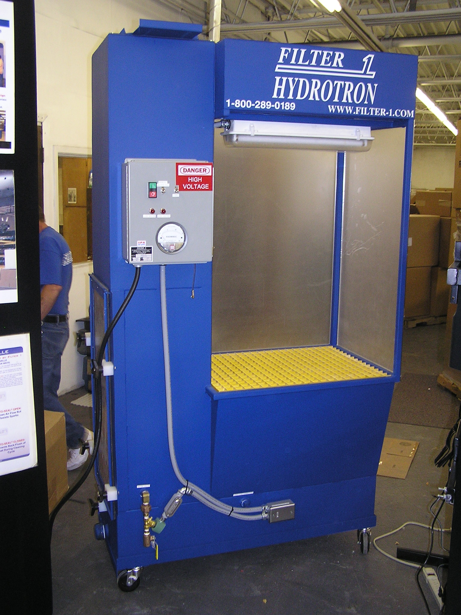Water Filter Dust Collection Systems Remove Contaminated Air ...