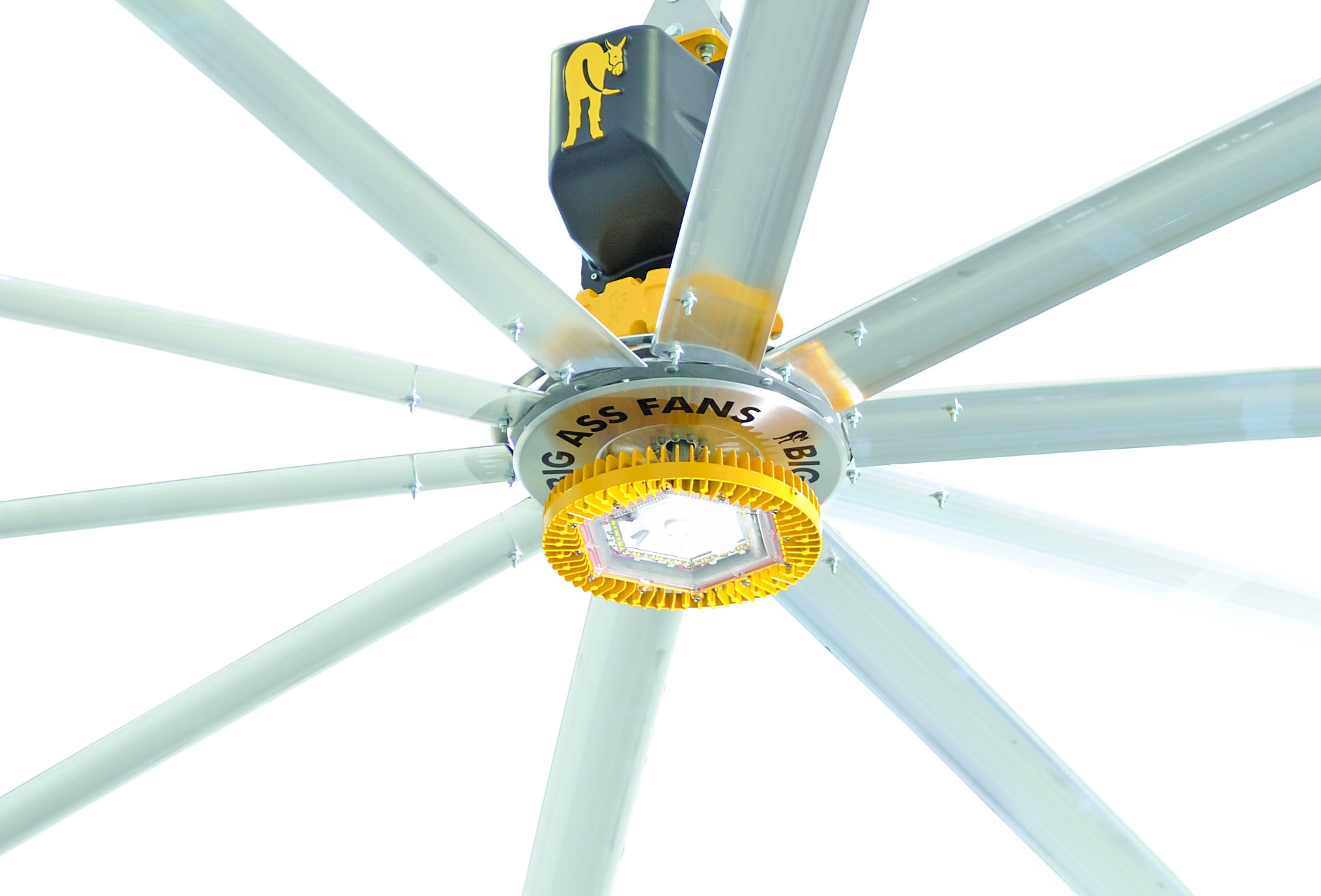A First LED Equipped Industrial Ceiling Fan