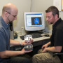 By moving up to a Mastercam Level III, the firm has realized numerous improvements in its manufacturing workflow including, increased productivity, getting to first piece faster, and reducing the number of jobs that could not be quoted due to lack of adequate programming capabilities. Shown here are Steve Gerrard, Project Engineer (l) and Dave Schutt, CNC Programmer.