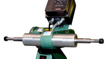 The M1001 Variable Speed Wide Polishing Lathe from Burr King.