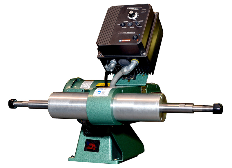 Buff And Polish With The Same Variable Speed Polishing Lathe