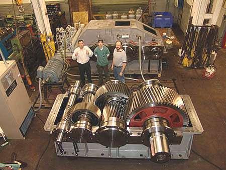 Idc Industries Installs The Largest Gear Grinder In Michigan