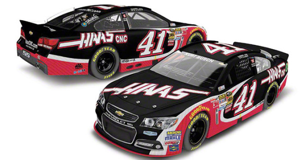 The driver of the Haas #41 Chevrolet is 2004 Sprint Cup champion Kurt Busch, who joins Stewart-Haas Racing following an impressive 2013 season.