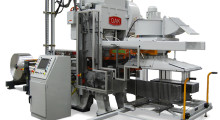 A 45 ton, straight side style press, the FP-400 is a reliable, cost effective production line that consistently produces quality fins with design elements that lead to longer tool life. The increased tonnage over the OAK FP-1 press allows for a wider variety of fin materials and more intricate die tooling patterns.