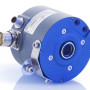 Figure 3. The Model 862 with PROFIBUS DP encoder can be isolated from a shaft up to 2.5 kV. Hybrid ceramic bearings provide this isolation as well as extend operating life. The encoder is rated for operation with a 9 volt to 30 volt power supply, from -40 deg C to +80 deg C.