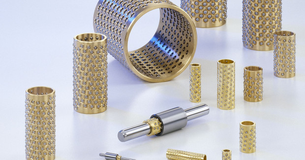 A full line of Rotary Stroke Bearings is now available from Mahr Federal. Suitable for a wide range of applications where linear, rotary, and combined movements are required, MarMotion high precision linear or Rotary Stroke Bearings are frequently specified for high precision applications such as machine tool spindles and pick-and-place assembly robots used in semi-conductor manufacture.