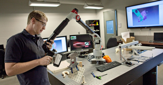 NIAR partnered with Hexagon Metrology in an effort to become the most capable university-based aviation research center in the United States.