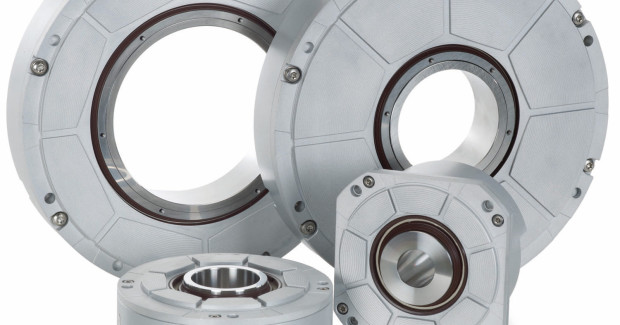 Setting the standards for technological measurement of angles, HEIDENHAIN's angle encoders with integral bearing and hollow shaft provide high accuracy, reliable position and speed control through use on rotary tables, tilting axes and direct drives.