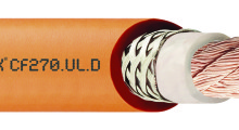 The Chainflex® single core CF270-UL-D spindle cable.