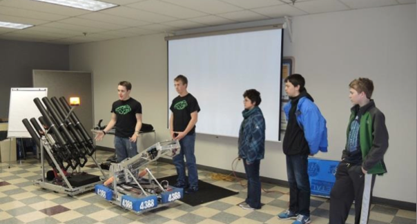 The Fossil Ridge team is currently ranked in the FTC World Championship Franklin Division thanks to their first place status in the local competition.