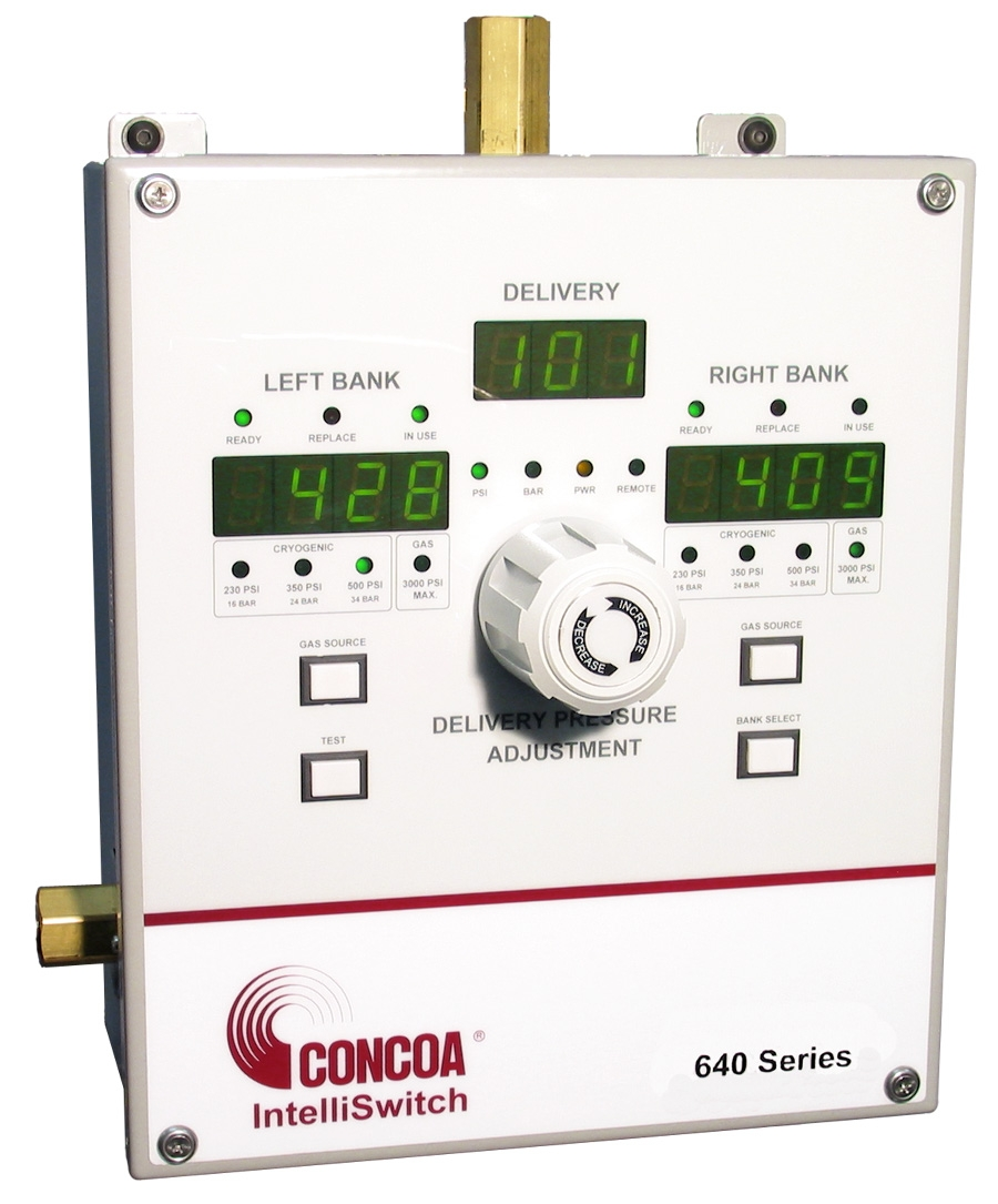 Clearing The Air In Gas Delivery Pressure Regulator For Cutting Machine Circuit Control View