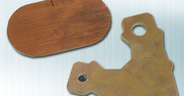 With the fiber laser, Ohio Laser now cuts copper, brass and bronze with speed and efficiency as well, materials that were difficult to cut before.