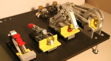 These aerostructure workholding clamps from DE-STA-CO are designed for fuselage, wing assembly and drilling fixtures.