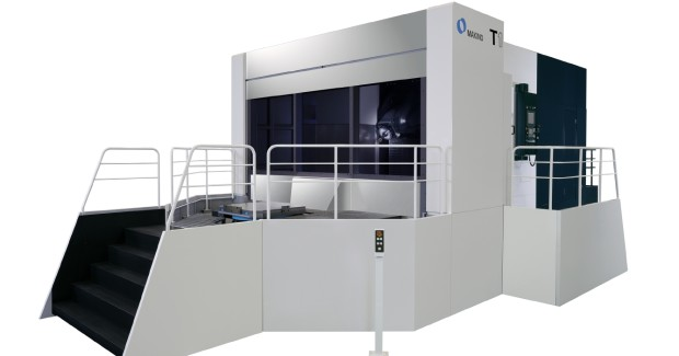 When producing large, heavy components, a machine tool should deliver the dynamic stiffness and rigidity critical to achieving the highest level of cutting stability. The construction of the T1 meets such requirements with thick Z-axis bed castings, wide slideway surfaces and a deep-chest, monolithic column design, supporting the X- and Y-axis. These features are enhanced with Makino's Active Damping technology that removes cutting vibrations from each axis. Together, these design considerations yield enhanced cutting stability, greater productivity and longer tool life.