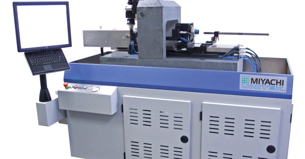 Applying an ultra-short pulse width, the Sigma Femtosecond Laser Tube Cutting System from Miyachi America uses a cold ablation process to cut materials, creating an excellent edge quality.