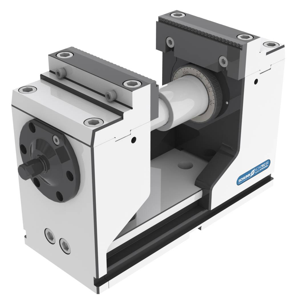 Powerful Vise Clamping System for 5-Axis Machining