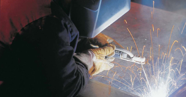 The reasons for using stick welding vary. Fabricators may need greater access to the weld joint (where a MIG gun won't reach) due to a complicated configuration. Or in some cases, the process may be specified for a given welding procedure. Welding on outdoor applications also benefits from stick welding since it's very portable — it doesn't require external shielding gas cylinders or a wire feeder.