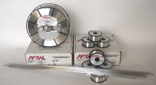 Maxal 4943 MIG wire offers precisely controlled wire diameter, cast and helix, high column strength and a surface condition that optimizes feedability. The spooled products are available in diameters ranging from .030 in to 1/16 in. TIG cut-lengths also offer excellent weldability and are available in 1/16 in, 3/32 in, 1/8 in, 5/32 in and 3/16 in diameters.