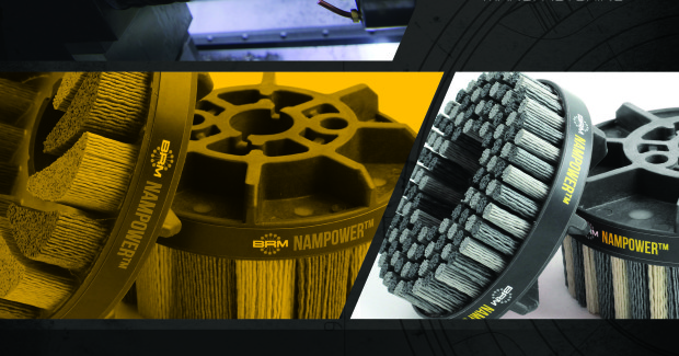 Designed for ease of use, this technical guide is an excellent reference for assisting in purchasing and operating BRM's Nampower abrasive tool line. The technical booklet offers information on selecting brush style, trim length and grit.