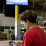 The new automated management system at abrasive waterjet manufacturer OMAX uses basic consumer technology that operates with over 100 Amazon Kindle Fire tablets, as well as large touch screens.