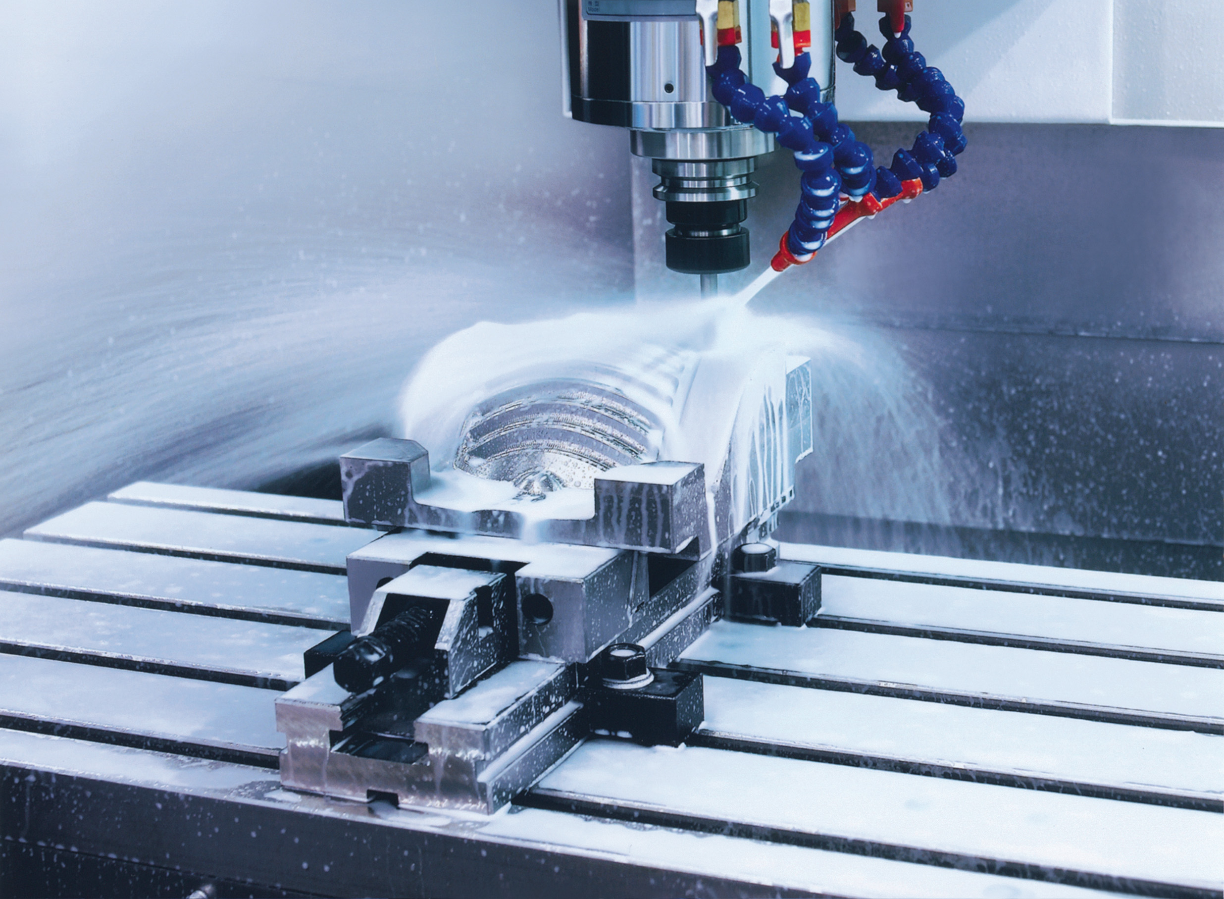 Easy-To-Use Vertical Machining Centers for Precision Parts
